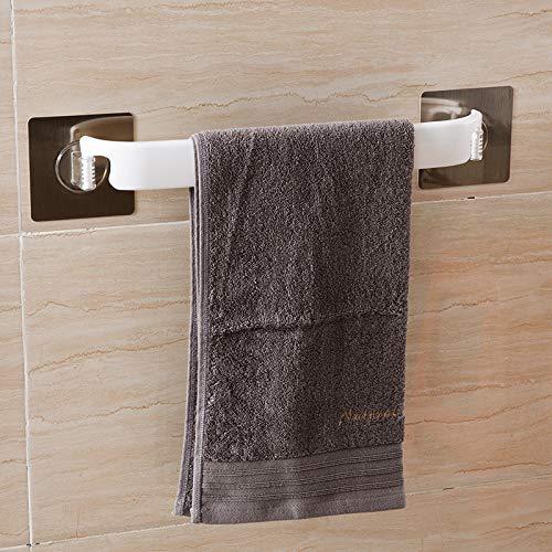 zzyuanwei Küchenrollenhalter Leistungsstarker Saugnapf-Handtuchhalter, Saugnapf-Handtuchhalter, Handtuchhalter, Handtuchhalter, Bad-Handtuchhalter mit Handtuchhalter aus Papier -