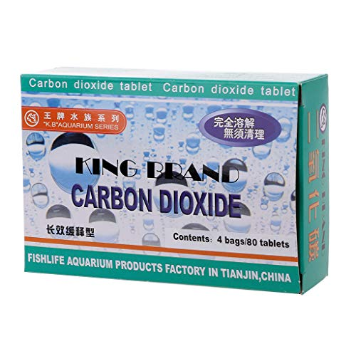 Biniwa CO2-Tablette für Aquarien, Kohlendioxid, für Pflanzen, Aquarien, Aquarium, Diffusor, Gras -