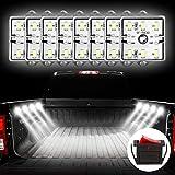 Favoto Bande LED de Voiture 12V 8W, Lampe Exterieur Intérieur avec 6 * 8 SMD LED 2...