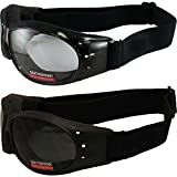 Best Global Vision Eyewear Night Vision Goggles - Red Baron Motorcycle Aviator 2 Goggles For Day Review