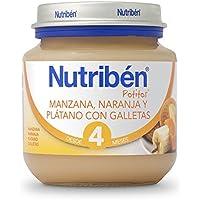 Nutriben Manzana, Naranja, Platano y Galleta 130g- 130 gr