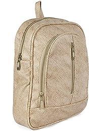 Fargo PU Women's Backpack Handbag (Beige_FLFG-06)