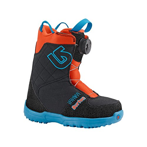 Burton snow board boots grom boa, ragazzo, snowboard boots grom boa, webslinger blue