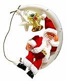 Unbekannt Kamin Fensterbild Fensterschmuck LED Weihnachtsmann Nikolaus