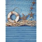 Vinyle photo fond Studio Photo Photo Motif Motif Maritim Fond de la Mer