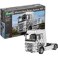 Revell - 7425 - Maquette De Camion - Mercedes Benz Actros Mp3 - 292 Pièces - Echelle 1/24
