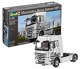 Revell Modellbausatz LKW 1:24 - Mercedes-Benz Actros MP3 im Maßstab 1:24, Level 5, originalgetreue Nachbildung mit vielen Details, Lastwagen, Truck, 07425