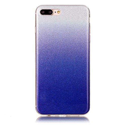 iPhone Case Cover Gradient Pattern Couleur Silicone souple TPU Housse de protection arrière pour IPhone 7 Plus ( Color : I , Size : IPhone 7 Plus ) N