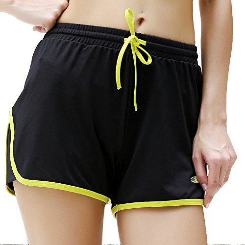 Yvette 8027 Womens Sports Shorts Anti bacterial