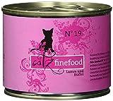 Catz finefood Katzenfutter No.19 Lamm & Büffel 200g, 6er Pack (6 x 200 g)