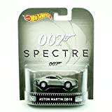 ASTON MARTIN DB10 from the 2015 James Bond film SPECTRE Hot Wheels 2015 Retro Series 1:64 Scale Die Cast Vehicle