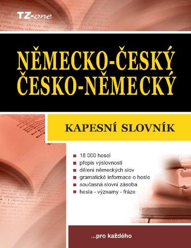 Německo-český/ česko-německý kapesní slovník (English Edition)