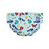 Bambino Mio Kleine Schwimmwindel Tiefsee Blau 0-6 Monate