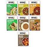 Tit-Bit  Snacks Masala Mix Combo - Pack of 7 Contains Chat Masala 50g, Chhole Masala 50g, Pav bhaji Masala 50g, Sandwich Masala 50g, Tea Masala 50g,