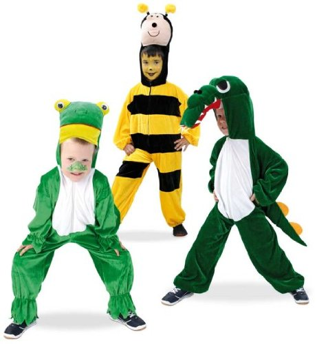 Tieroverall Tierkostüm Biene 1tlg. Velours (Kleinkind Tierische Kostüme)