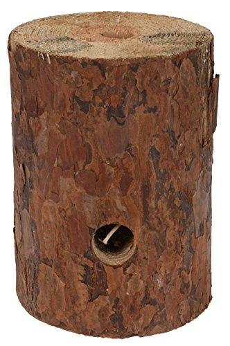 Bahia Vista - Fiamma svedese a forma di tronco d'albero, altezza 20 cm, diversi diametri, prodotto naturale