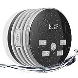 EXTSUD IPX7 Bluetooth Lautsprecher, mit FM Radio 5W Tragbarer Duschradio...