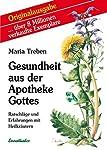 """Das Hauptwerk Maria Treben's, die """"Gesundheit aus der Apotheke Gottes"""", ist 1980 im Ennsthaler Verlag erschienen und wurde bisher in 27 Sprachen übersetzt. Es werden 31 Heilkräuter, deren Heilkraft und Anwendungsmöglichkeiten als Tee, aufzulegender B..."""