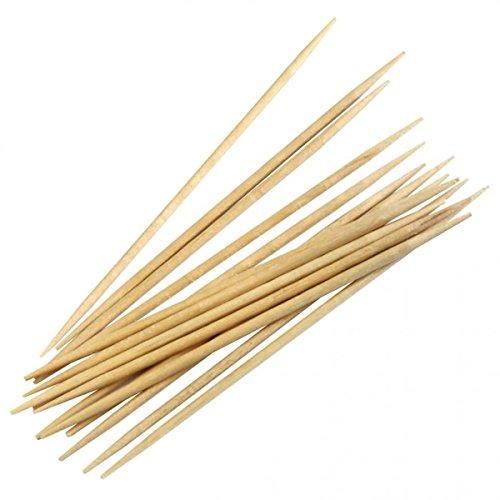 BIO Bambus-Zahnstocher in Papier gehüllt, Bambus-Zahnsticks, Bio-Zahnsticks, Toothpicks aus Bambus, 66 mm, 20 x 1000 Stück