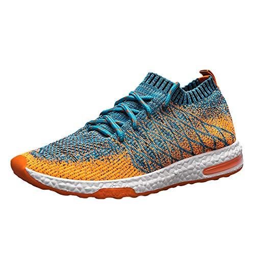 deportivo zapatos de hombre,BBestseller Zapatillas de Running para Hombre Deportivas Zapatos para Correr Malla Respirable Gimnasio Running Sneakers