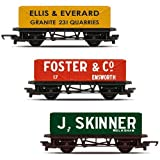 R6784 Hornby OO - RailRoad 3 Pack - Open Wagons