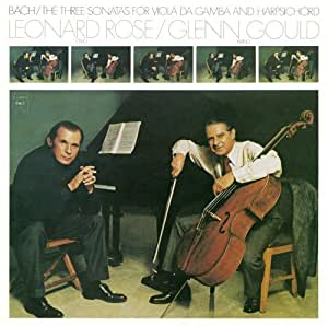 Glenn Gould Jubilee Edition: The Three Sonatas for Viola da Gamba & Harpsichord