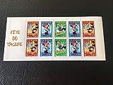 Timbre France Carnet Neuf BC3641a Non pliée de 2004 avec 3641a, 3642 et 3643. Disney, Mickey, Donald, Minnie
