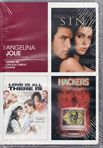 Angelina Jolie Collection -- Original Sin -- Love Is All There Is -- Hackers -- Dvd