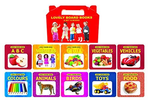 Lovely Board Books Gift Pack (10 Titles) (Set of 10 Books)