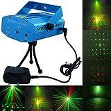 AlexVyan New Multi Pattern 6 Design Sound Activated Laser Light Disco Party Club, New Mini DJ Light, Diwali Light Decoration Birthday Light Night Light