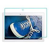 """Protection écran pour Lenovo Tab 2 A10-30 / A10-70 10.1"""" Tablet, Aohro Film Protection d'écran en Verre Trempé ultra résistant Glass Screen Protector Vitre Tempered Transparent (1 Pack)"""
