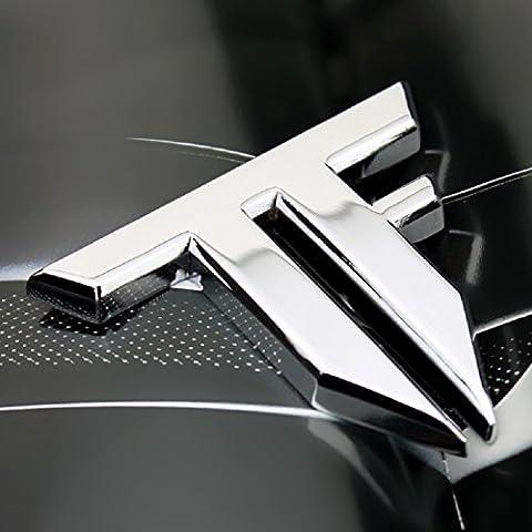 1pcs metallo auto stemma adesivo Trunk Fender Moto Transformers TF lettere logo auto styling accessori 6x 5cm