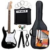 Rocktile Banger's Pack Set Chitarra Elettrica, Nero