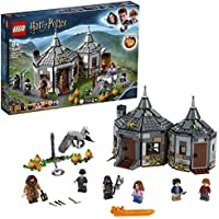 LEGO 75947 Harry Potter Hagrid's Hut: Buckbeak's Rescue Playset with Hippogriff Figure, Gift Idea for Wizarding World Fans, Multicolour