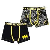 Character Jungen 2 Pack Boxer Shorts Batman 3-4 Jahre