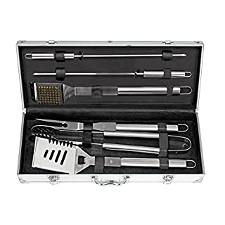 BBQ Tool Set in Aluminium Case