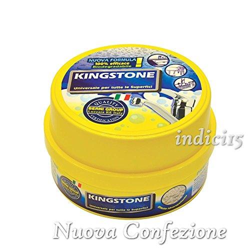 Detergente Universale Biodegradabile Kingstone Confezione da 500g con spugna (Bronzo Bagno Piastrelle)