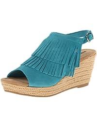 Schuhzoo - Sandalias de vestir para mujer , color azul, talla 36 EU