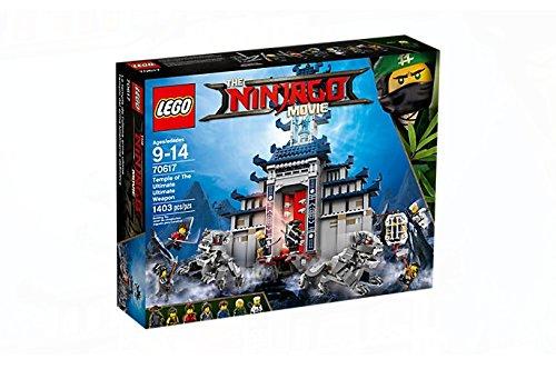 Preisvergleich Produktbild LEGO Ninjago Tempel-Versteck 70617
