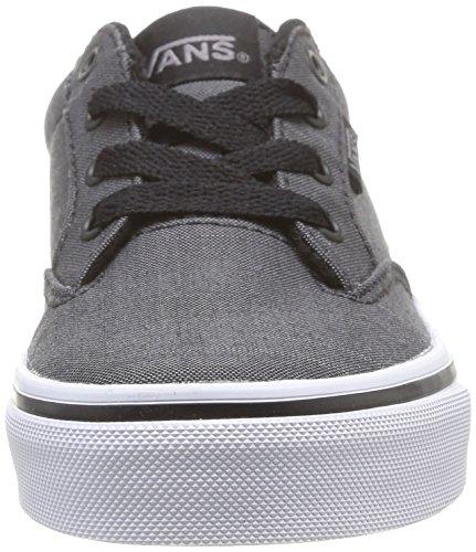 Vans Y Winston, Baskets mode mixte enfant Noir (Textile Black)