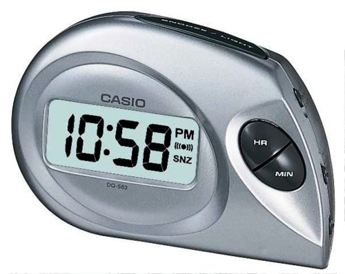 Casio Reloj Despertador DQ-583-8EF