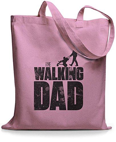 StyloBags Jutebeutel / Tasche The Walking dad Rosa