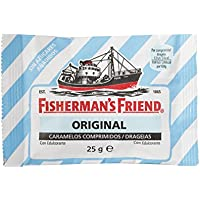 Fisherman's Friend Caramelo Comprimido Sin Azúcar Sabor Original - 12 unidades de 25 gr/ud
