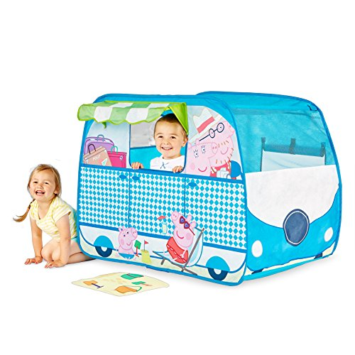 Image of Peppa Pig Campervan Playhouse - Pop Up Role Play Tent