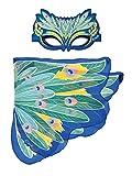 Dreamy Dress-Ups 66162Mask + Wings, Flügel + Maske, Peacock, Blaue Pfau Pavo cristatus