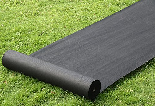 tinkertonk-100m-x-1m-black-weed-control-nonwoven-fabric-ground-cover-membrane-sheet-for-driveways-al