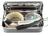 Rasiermesser-Set mit edler Aufbewahrungs-Box
