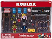 Jazwares-ROBLOX-10761-Figurines et Set de Jeu-Zombie Attack, 10761