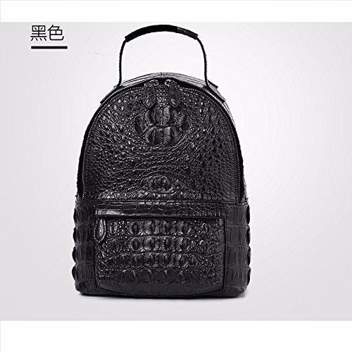 lpkone-Nouveau motif crocodile sac épaule simple de la femme la mode européenne mini sac à main sacs femmes Black
