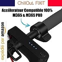 ChillOut® Acelerador xiaomi m365 Acelerador de Patinete eléctrico xiaomi m365 de Repuesto & Pro Control de Velocidad botón Pulgar para Patinete
